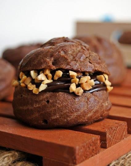 resepi-cream-puff-coklat