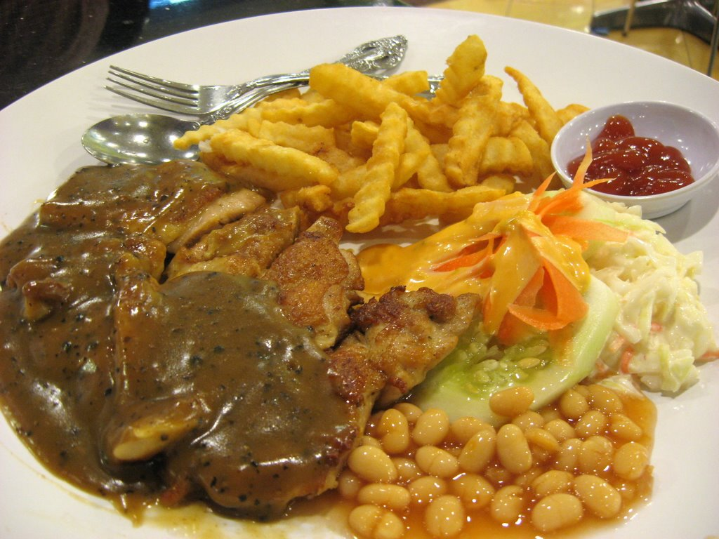 how to cook a chicken chop