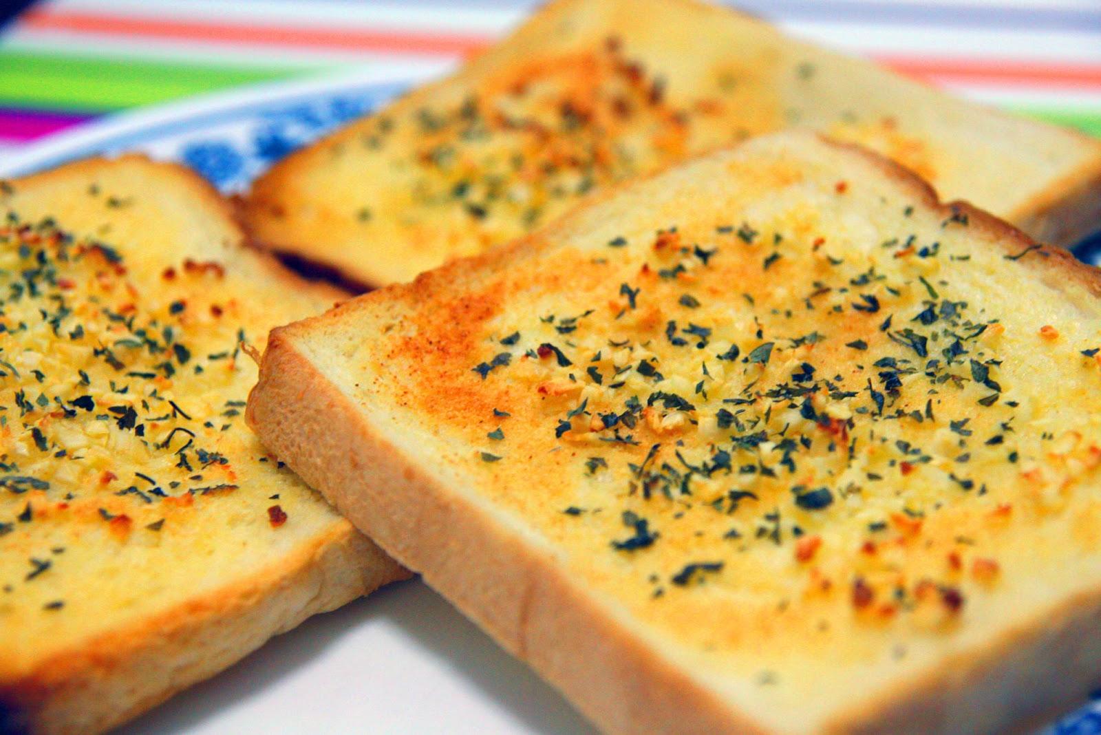 resepi-roti-bawang-putih