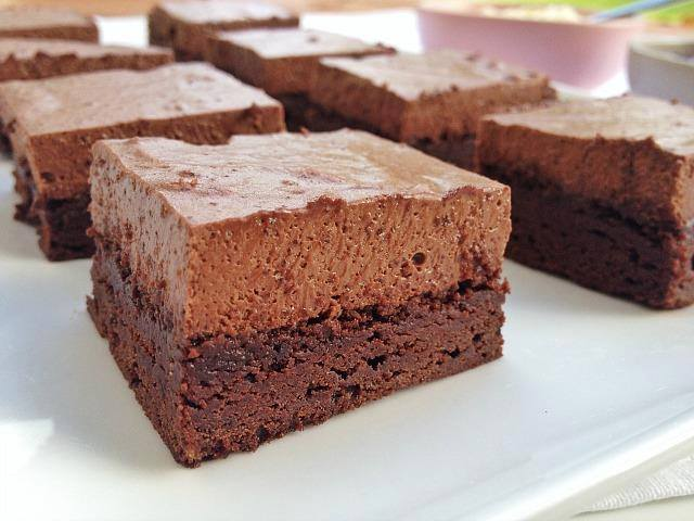 resepi-choco-mousse-brownies