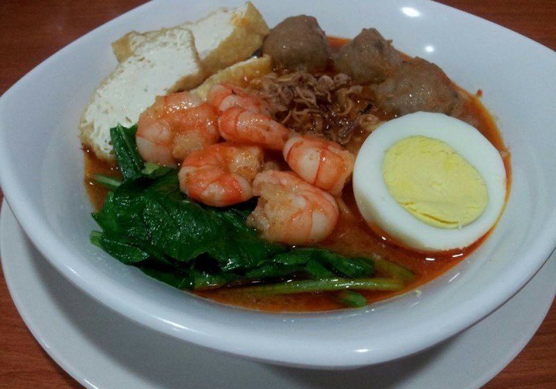 mee-udang-meat-ball