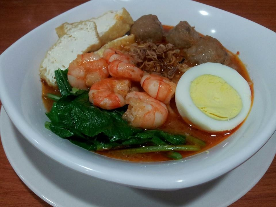 resepi-mee-udang-meat-ball