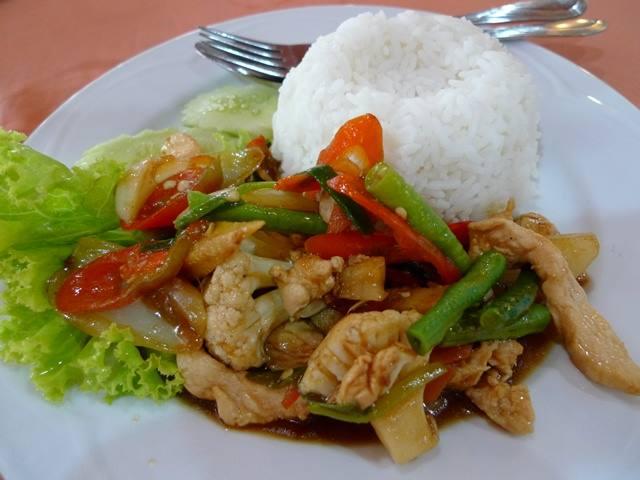 resepi-nasi-paprik-ala-thai