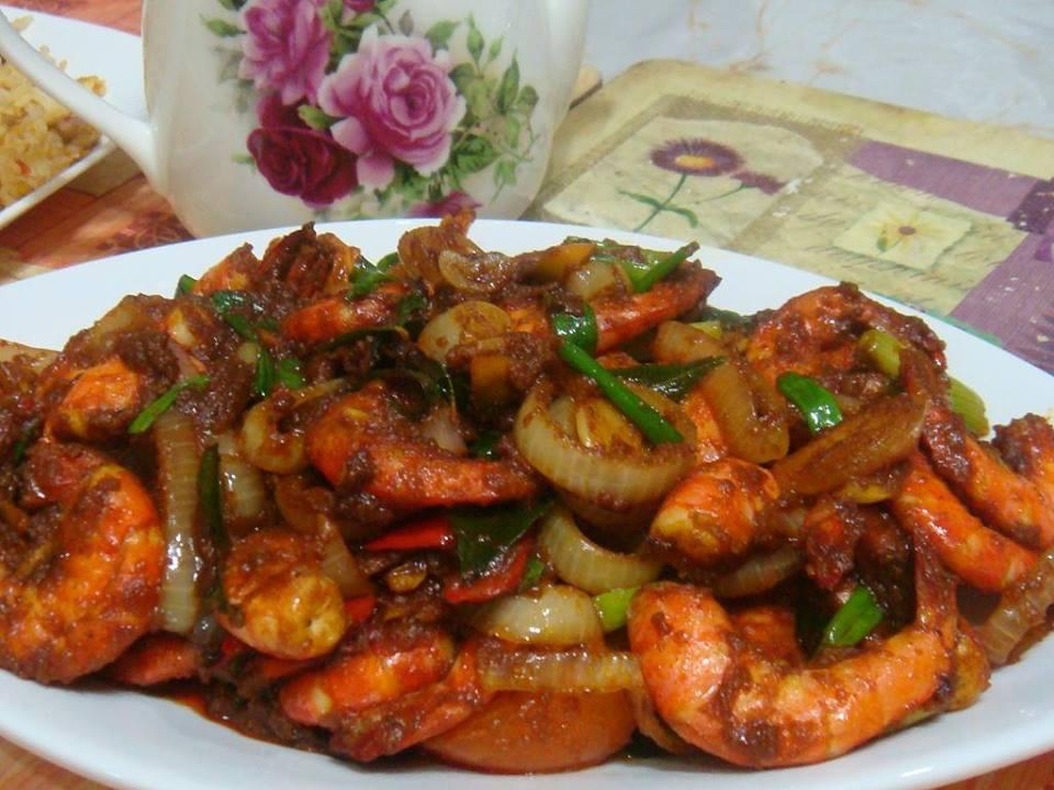 resepi-sambal-kari-udang