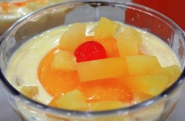 resepi-puding-buah-buahan-berkastad