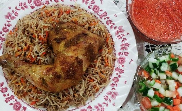 resepi-nasi-mandhi-ayam