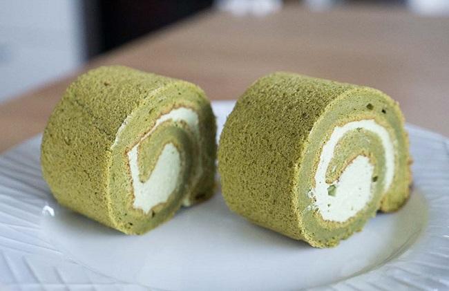 resepi-kek-gulung-green-tea