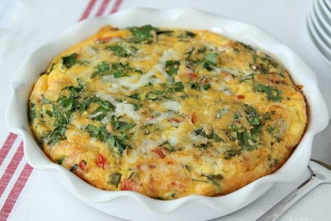 resepi-baked-breakfast-omelette