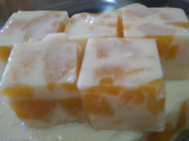 resepi-puding-susu-buah-peach