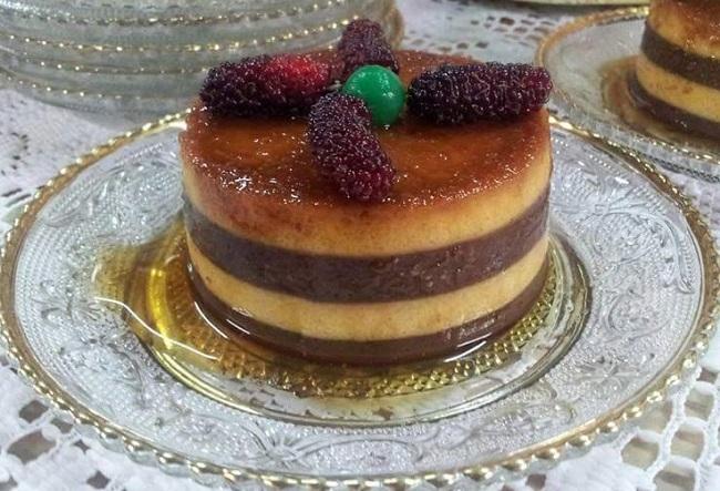 resepi-puding-karamel-jagung-lapis-coklat