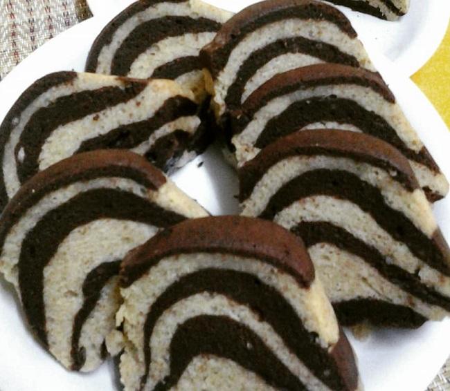 resepi-kek-pisang-marble-coklat
