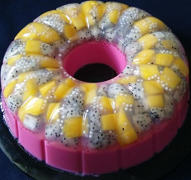 resepi-puding-dragon-fruit-mangga