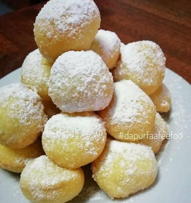 resepi-mini-donut-snowball
