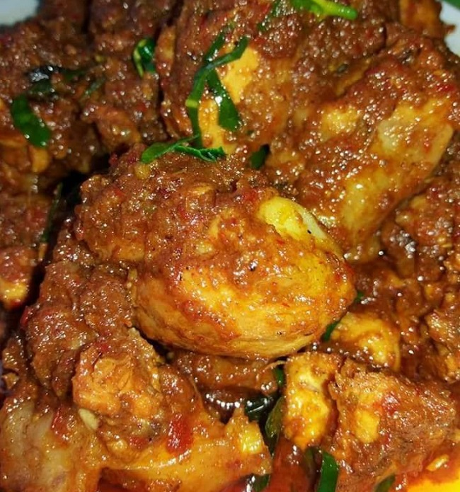 Resepi Ayam Masak Rendang • Resepi Bonda