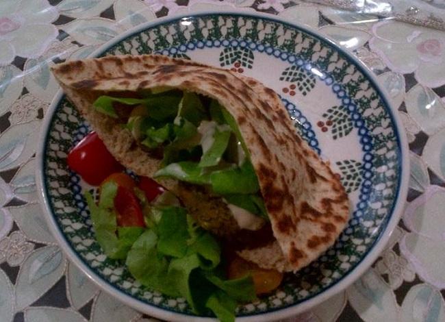 resepi-falafel-wraps