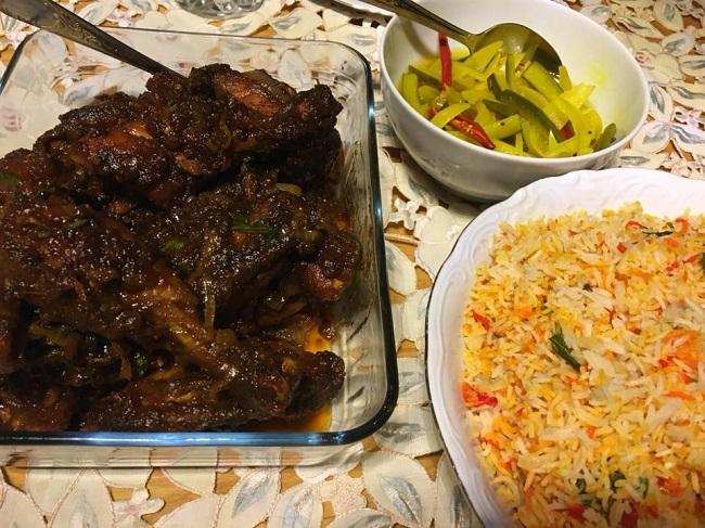 resepi-nasi-minyak-ayam-madu