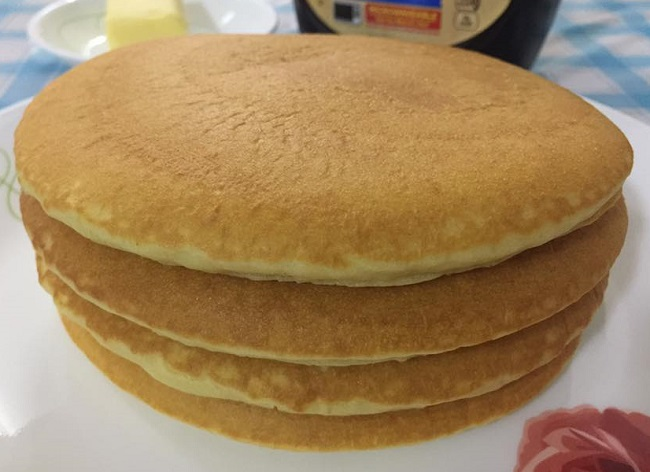 resepi-fluffy-buttermilk-pancake