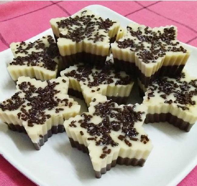 resepi-puding-lapis-coklat-susu