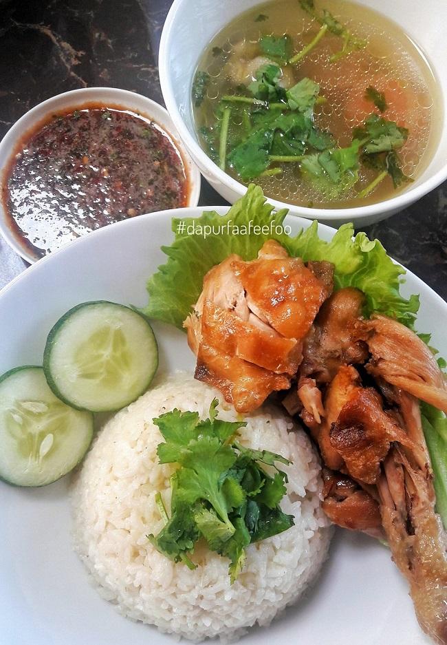 resepi-nasi-ayam-thai