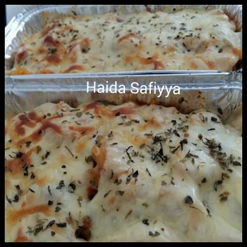 resepi-macaroni-meatball-cheese-baked
