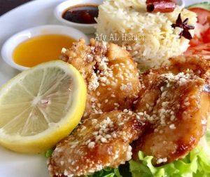resepi-nasi-ayam-sos-lemon
