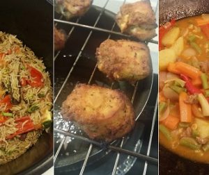 resepi-nasi-bukhari-dengan-ayam-bakar-halia-dan-dalca