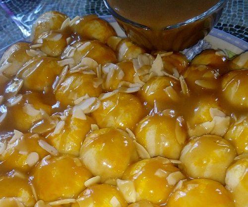 resepi-roti-sarang-lebah-sos-butterscotch