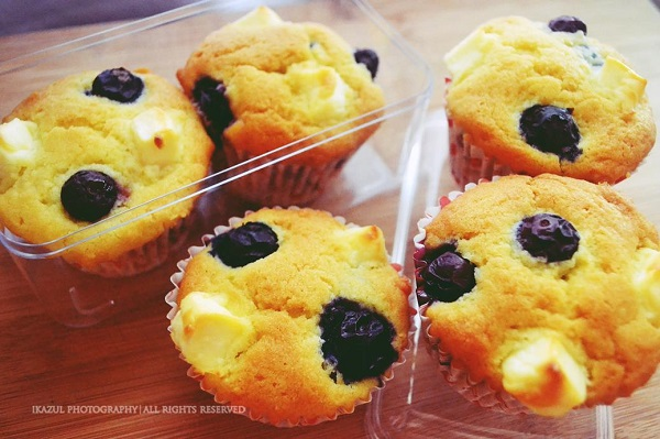 resepi-muffin-blueberry-dengan-cream-cheese