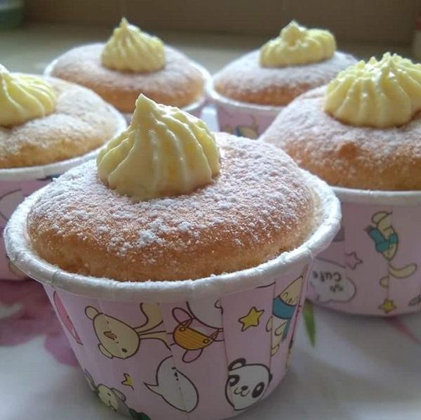 resepi-hokkaido-chiffon-cupcakes