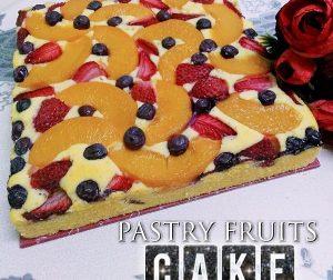 resepi-pastry-fruits-cake-dengan-sos-vanilla-berkrim