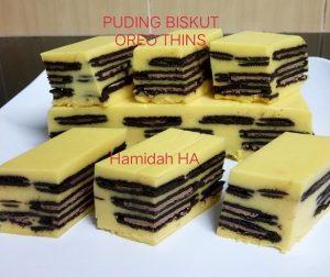 resepi-puding-biskut-oreo-thins