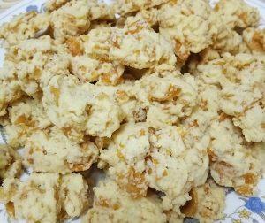 resepi-cornflakes-crunchy-cookies