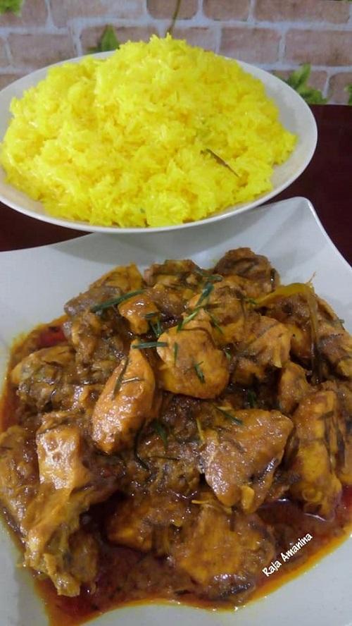 Resepi Rendang Ayam Rencah Tumbuk