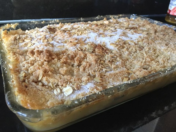 resepi-apple-crumble