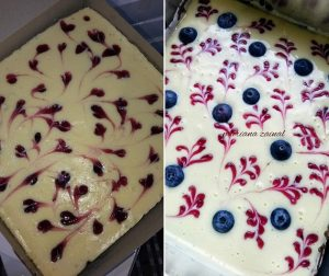 resepi-brownies-blueberry-cheese