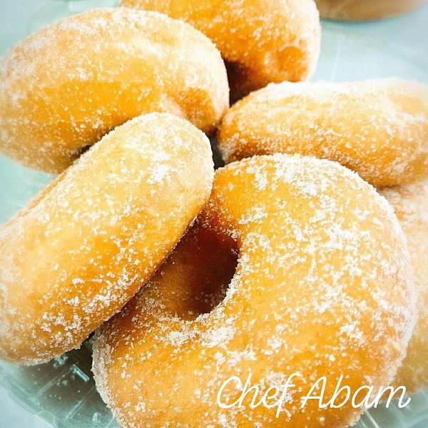 resepi-donut-pandan