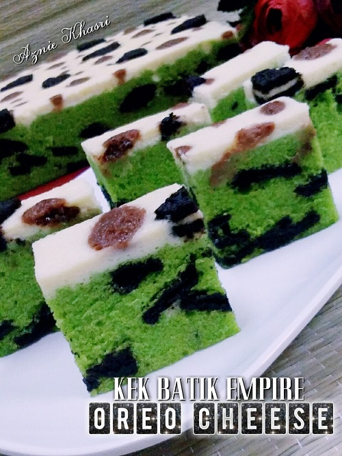 Resepi Kek Batik Empire Oreo Cheese
