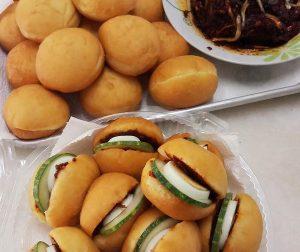 resepi-pau-sambal-tumis