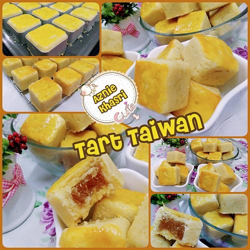 Resepi Kuih Tart Taiwan