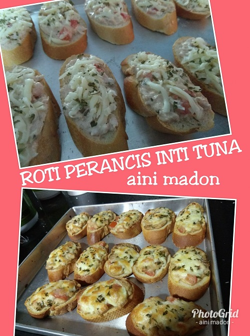 Resepi Roti Perancis Inti Tuna
