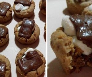 resepi-hershey-marshmallow-cookie-cup