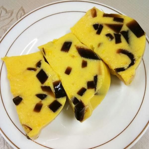 resepi-puding-jagung-cincau