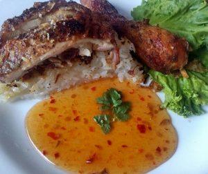 resepi-pulut-ayam-thai