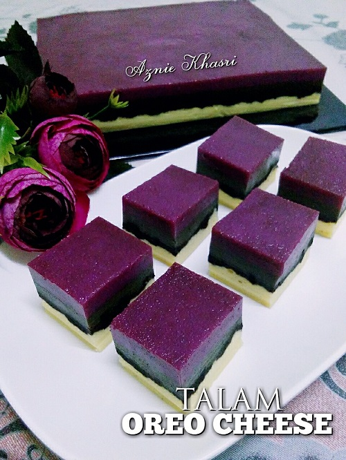 Resepi Talam Oreo Cheese