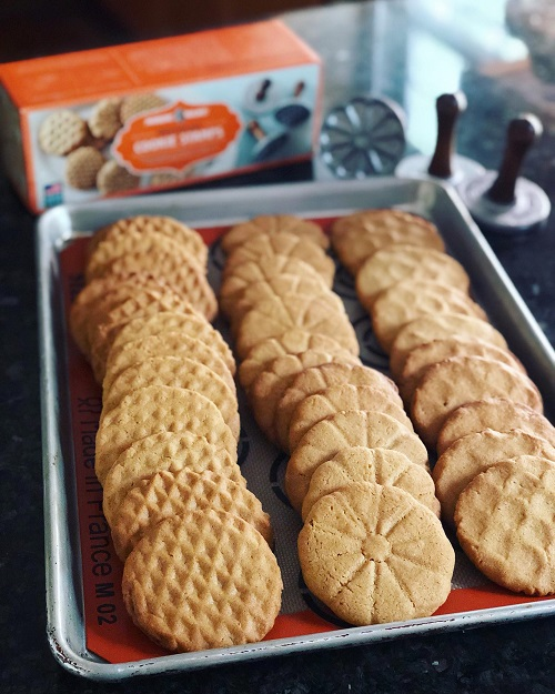 Resepi American Peanut Butter Cookies