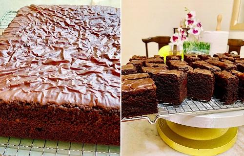 Resepi Brownies Coklat Kedut