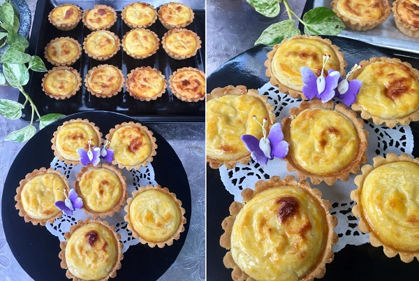 resepi-hokkaido-cheese-tart