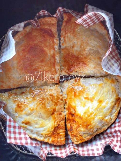 Resepi Pratha Inti Ayam Cendawan