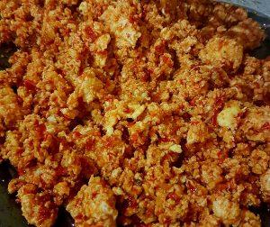 resipi-sambal-telur-hancur