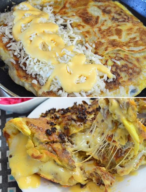 Resepi Martabak Cheese Dengan Acar Bawang